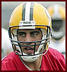 News fantasy football player Aaron Rodgers Hurts Hamstring On MNF