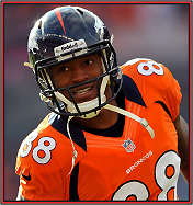 News fantasy football player Demaryius Thomas Dealing With Wrist Injury