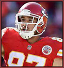 News fantasy football player Travis Kelce Limited Wednesday; WR Robinson Held Out