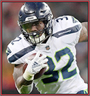 News fantasy football player Chris Carson Talking Up Penny?