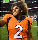 News fantasy football player Phillip Lindsay Has Wrist Cleaned Up