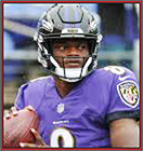 News fantasy football player Harbaugh Looking For Lamar Jackson To Improve As A Deep Passer