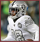 News fantasy football player Josh Jacobs suffers an ankle injury versus the Falcons