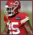 News fantasy football player CEH and Watkins out for the Chiefs